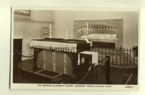 h0258 - Princess Elizabeth Chapel , Parish Church , Newport , Isle of Wight