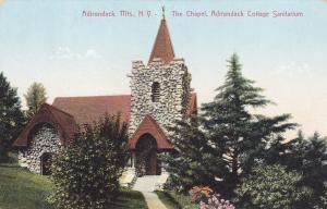 ADIRONDACK, New York, 1900-1910's; The Chapel, Adriondack Cottage Sanitarium