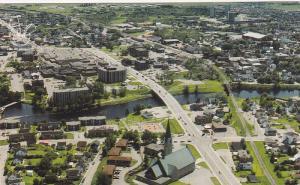Aerial View, Ville de Jonquiere, Suguenay, Quebec, Canada, 40-60´s