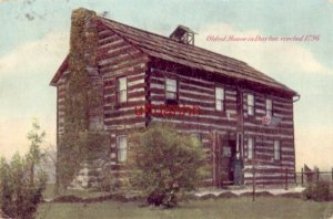 1907 OLDEST HOUSE IN DAYTON, OH erected in 1796