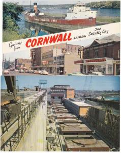(2 cards) Greetings from Cornwall ON, Ontario, Canada