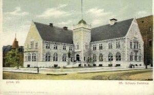 Library Bldg. - Joliet, Illinois IL