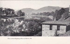 View On The Alleghany River At Warren, Pennsylvania, 1901-07