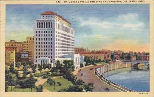 Ohio State Office Building And Grounds Columbus Ohio