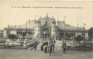 Marseille CPA exposition 114 Grand-Palais de l'Indo-Chine (132221)