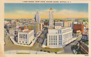 New York Buffalo New Federal Court House Niagara Square