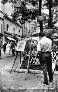 France Paris Place du Tertre a Montmartre et le Sacre-Coeur
