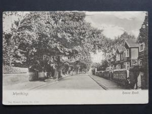 West Sussex: Worthing, Heene Road c1904 by The Wrench Series 3966 for S.E.Lawson