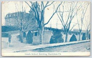Danielson Connecticut~Grade School Building~2nd Empire Architecture~c1910