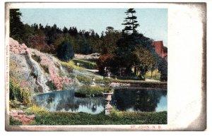 Pool in Rockwood Park, St John, New Brunswick