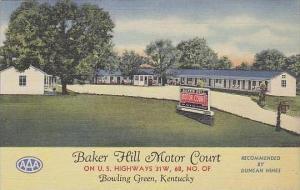 Kentucky Bowling Green Baker Hill Motor Court