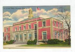 U.S. Post Office , Ravenna, Ohio, PU-1948