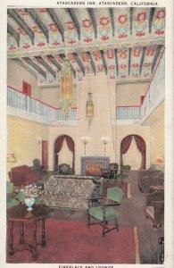 ATASCADERO , California , 1910s ; Atascadero Inn Lounge