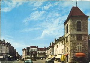 Lons-le-Saunier, Place de la Liberte, 1960s unused Postcard