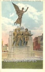 Sherbrooke, PQ Canada, du Canada Soldiers Memorial  Soldiers Memorial
