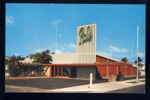 Fort Lauderdale/Pompano Beach, Florida/FL Postcard, Pal's Restaurants, 1960's?