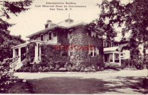 ADMINISTRATION BUILDING, LOEB HOME FOR CONVALESCENTS, EAST VIEW, N. Y.