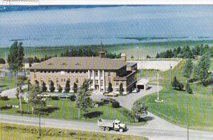 Ecole D'Agriculture, Lotbiniere, Quebec, Canada, PU-1986