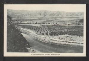 The Wenatchee Valley,WA Postcard