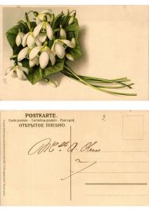 CPA Fruhlingsbotschaft Meissner & Buch Litho Serie 1367 (730475)