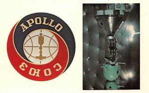 Apollo-/Soyuz test project official emblem Space Unused