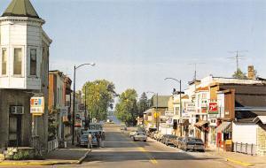 Montello Wisconsin~Corner Deli~Pepsi Sign~Coffee Cup~Hot Shoppe~Shell~1980s Cars