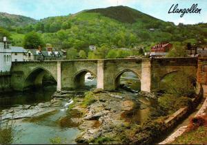 Wales Llangollen The Bridge