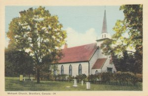 BRANTFORD , Ontario , 1930s; Mohawk Church