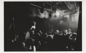 1950s Burlesque Show at Crazy Horse Nightclub Paris France Postcard