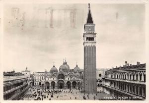 Italy Venezia Piazza S. Marco, Tour Square Tower Promenade
