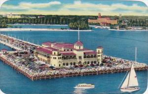 Florida Saint Petersburg Florida's Popular Recreation Pier