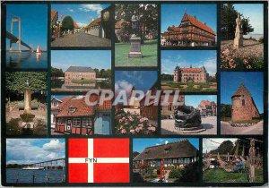 Postcard Modern vews from Fyn