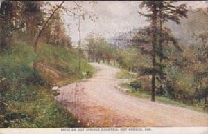 Arkansas Hot Springs Drive On Hot Springs Mountain 1912