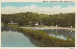 CHADRON, Nebraska, 1910-30s; Scene in Chadron State Park
