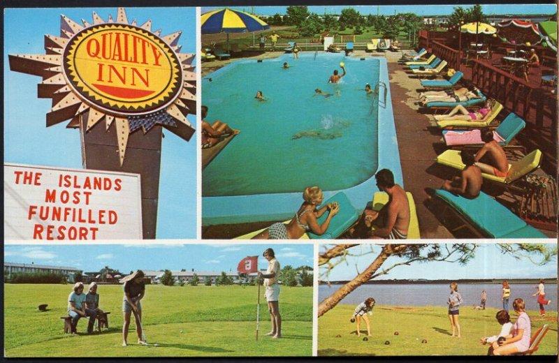 Prince Edward Island SUMMERSIDE Garden of the Gulf Quality Inn Water St. East