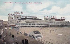 New Jersey Atlantic City Young's Million Dollar Pier From The South