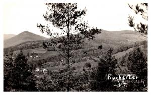 Aerial View of Rochester Vermont  ,  RPC
