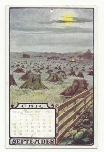 ADV; Canadian Home Investment Co, Vancouver , Canada , SEPTEMBER 1912 calendar