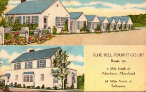 Maryland Aberdeen Blue Bell Tourist Court
