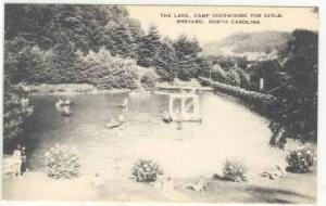The Lake, Camp Deerwoode for Girls, Brevard, North Carolina, 00-10s
