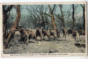 Boy Scout Work, Redpath-Brockway, Chautauqua