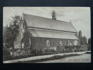 Berkshire ASCOT London Road ALL SAINTS CHURCH c1905 Postcard by Frith 50695