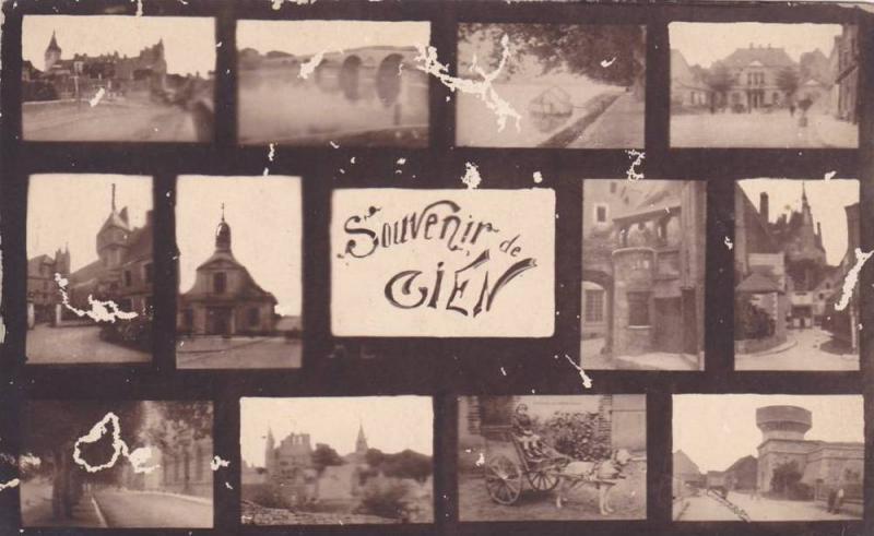 Gien , Loiret department , France, 00-10s Multiview postcard
