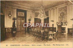 Old Postcard Compiegne - Le Chateau - Dining room
