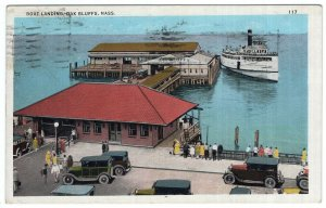 Oak Bluffs, Mass, Boat Landing