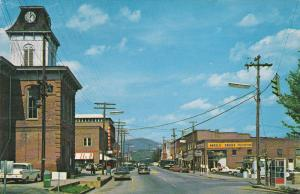 FRANKLIN , North Carolina, 40-60s ; Main Street