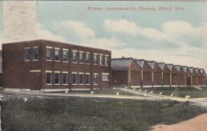 Warner Instrument Comapany Factory, BELOIT, Wisconsin, PU-1910