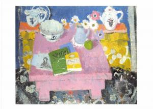 Postcard Art The Pink Table by Anne Redpath MU2664 #2764
