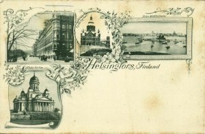 finland suomi, HELSINGFORS HELSINKI, Norra Esplanadgatan, Ryska Kyrkan (1899)