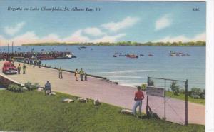 Vermont St Albans Bay Regatta On Lake Champlain